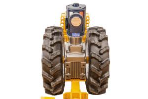 Prairieland Bin Sweep Tractor Unit Rear View